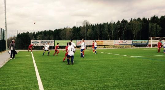 U17 gewinnt Heimspiel überzeugend mit 8:1