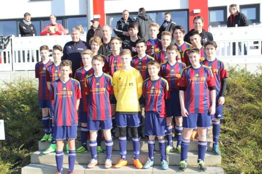 C-Jugend im Achtelfinale des Rheinlandpokales