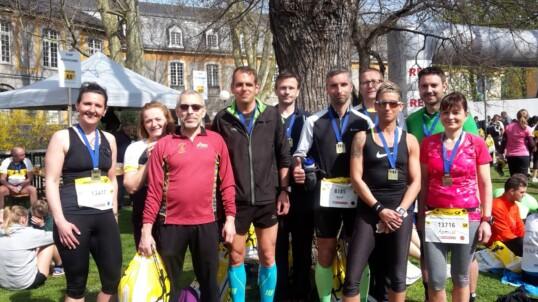 LT Grafschaft beim Bonner Halbmarathon