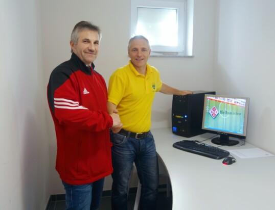 PC für das GSV – Sportheim!