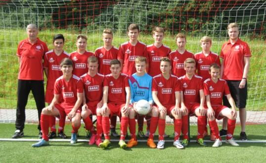 B-Jugend: 5 Spiele, 15 Punkte, 61:0 Tore