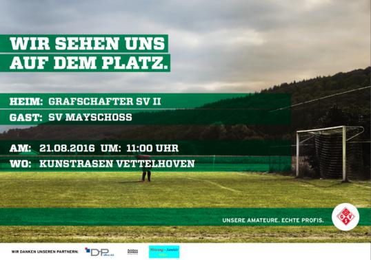 Zweite gegen SV Mayschoß!