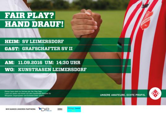 Zweite: Derbytime in Leimersdorf