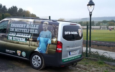 Das DFBmobil war zu Besuch!