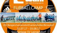 Fußball-Camp: es sind noch Plätze frei!
