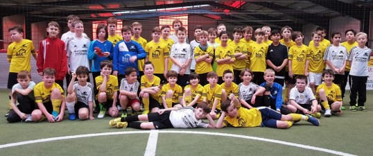 Team-Event für die Nachwuchs-Kicker