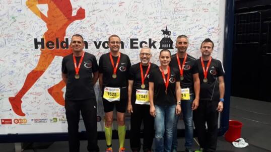 LT Grafschaft beim Koblenzer Halbmarathon